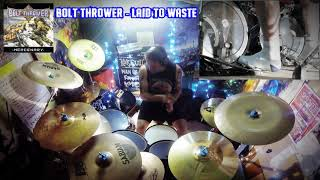 Bolt Thrower - Laid To Waste - Drum Cover