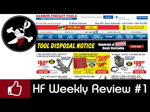 Harbor Freight Sale Review - Buy! Don't Buy! Try?