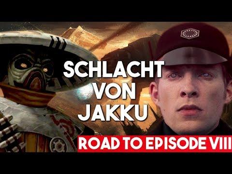 Die Schlacht von Jakku, und was Embo & Hux dort machten! [Kanon] #RoadtoEpisodeVIII