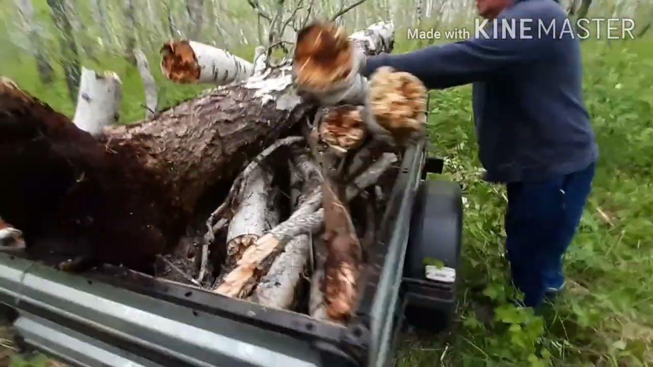 За дровами на Ниве 4×4