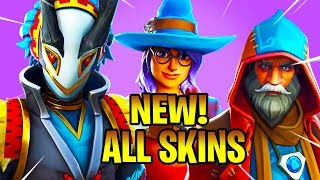 *NEW* All New Leaked Skins (Taro, Maki Master, Castor, Elmira) Fortnite Battle Royale
