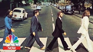 Behind The Famous Beatles Abbey Road Photo NBC News Now