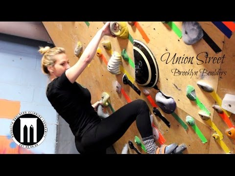 Missy Gets Belayed at Brooklyn Boulders - Union Street NYC