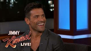 Mark Consuelos on Living Away from Kelly Ripa