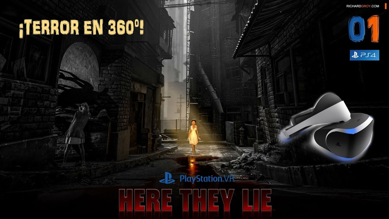 Ps Vr Terror En 360 Here They Lie Ep 01 Espanol Gameplay