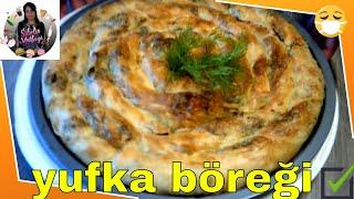 Ev Yapımı Yufka Böreği Tarifi Nasıl yapılır Sibelin mutfağı ile yemek tarifleri