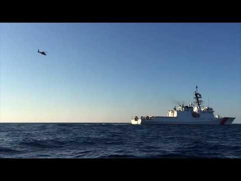USCGC Hamilton at Key West after Hurricane Irma SeaWaves Magazine