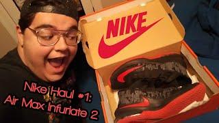 04d4318f93b Nike Haul  1  Air Max Infuriate 2 Mid w  unboxing ...