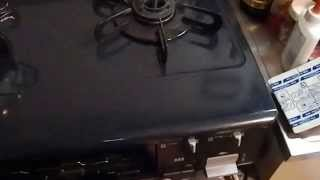 Japanese Gas Stove Connection and Batteries