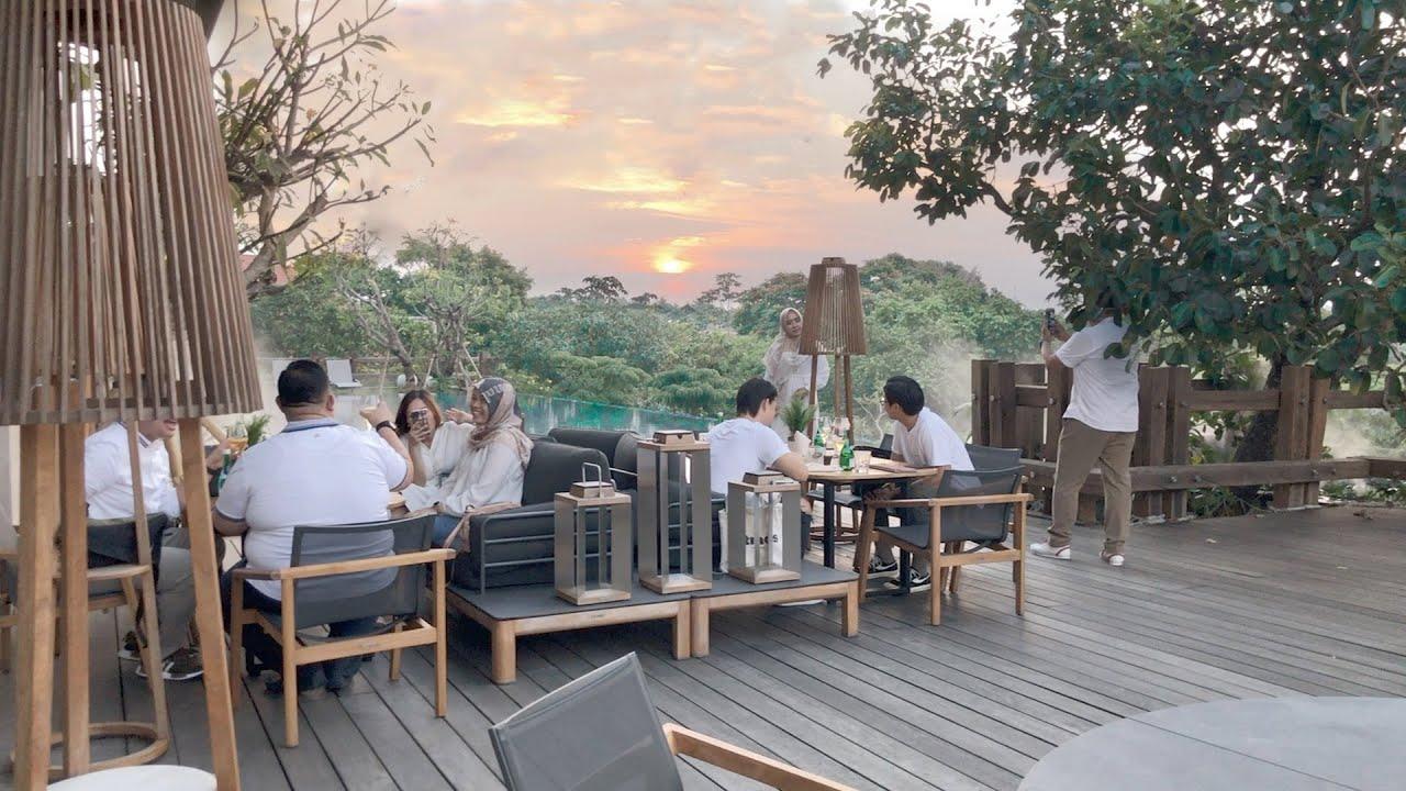 Restoran Romantis Rasa Bali, Bisa Lihat Sunset dan Ada Kolam Renangnya! The Forest by Wyl's Jakarta - YouTube