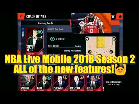 nba live mobile 破解 版 2018