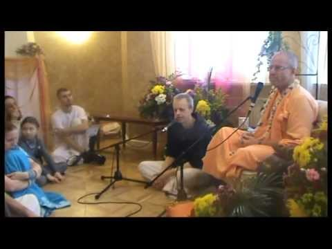 2013-01-29 BB Govinda Swami, meeting with disciples in Moscow