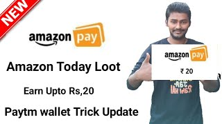 Amazon New Offer ! Paytm Trick Update ! Vmate Rs,56 Cashback ! Tekonline