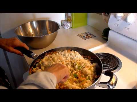 Cooking Japanese Food with My Mom -- Okara