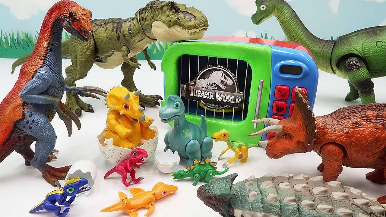 Jurassic Dinosaur Eggs Is Danger! Find Dino Egg And Let's Hatching