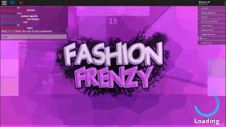 Roblox Fashion Frenzy Game
