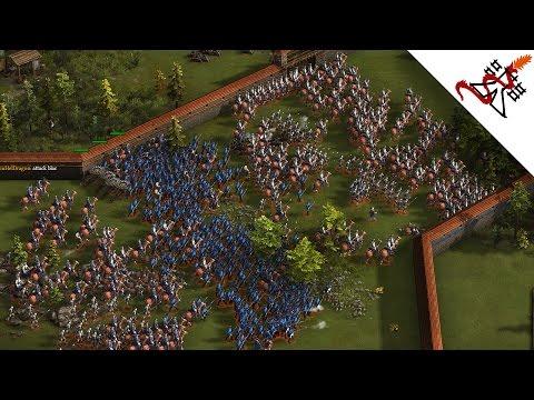 Cossacks 3 - 2v2v2 FORTRESSES WAR   Multiplayer Gameplay