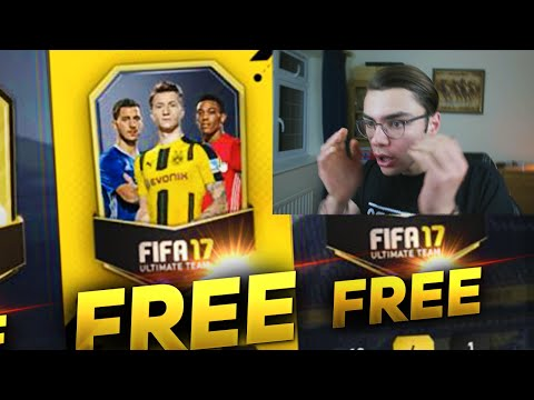 FREE FIFA 17 PACKS!!! How To Get FREE Fifa 17 Coins + Packs