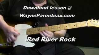 Red River Rock - Guitar Lesson