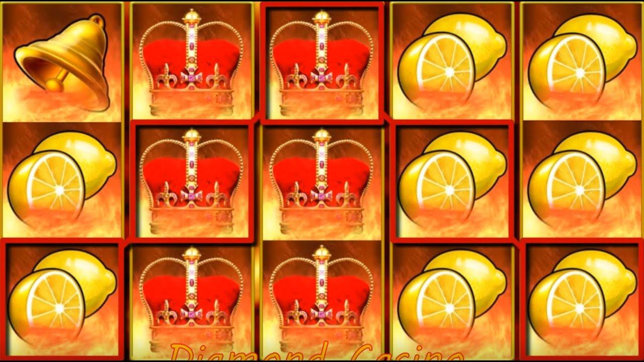 Shining Crown 2021 - EGT Slot - Pacanele - Linia de Struguri , Aproape Tablou Lamai si Plati