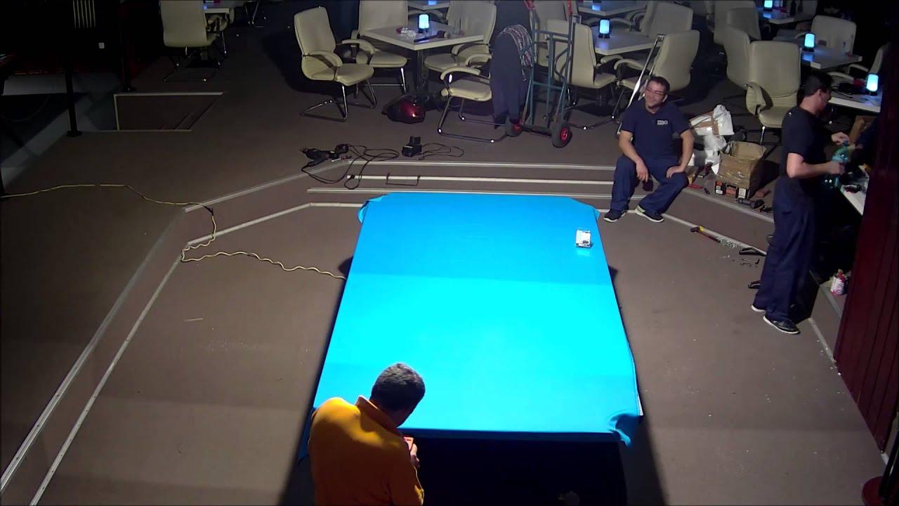 IDM Club Brunswick Gold Crown V Tournament Installation YouTube - Brunswick gold crown pool table