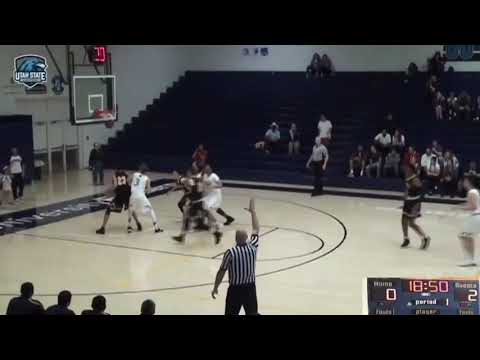 Rafael Monteiro-USU Eastern- Conference Highlights