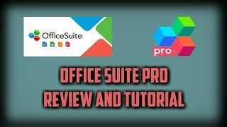 OFFICESUITE APP REVIEW AND TUTORIAL screenshot 3