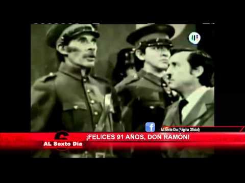 Los 91 años de Ramón Valdéz: momentos inolvidables del entrañable
