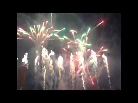 VALENCIA CITY BUKIDNON 12TH CHARTER DAY CELEBRATION JAN 12, 2013 MUSICAL FIREWORKS
