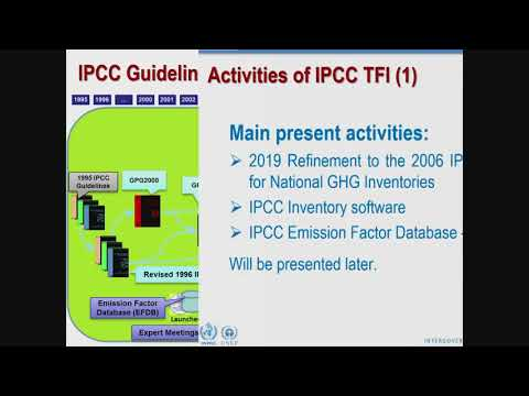 IPCC: 2019 Refinement and other activities of IPCC Task Force on National GHG Inventories
