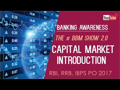 Banking Awareness | Capital Market Introduction | IBPS RRB PO | Online Coaching for SBI IBPS