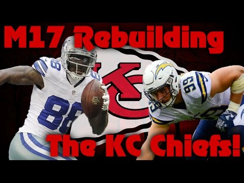 Madden 17 Franchise | Rebuilding The Kansas City Chiefs! Best Defense Ever!?