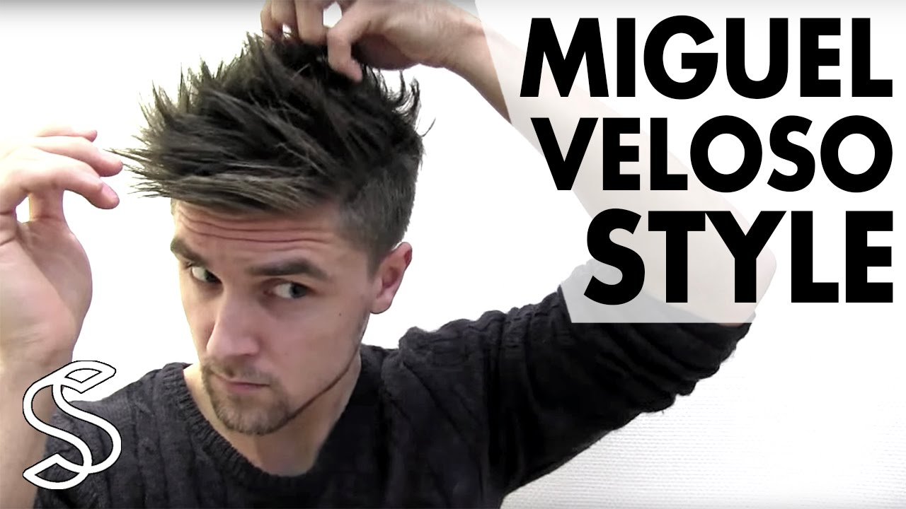 Miguel Veloso Hairstyle Mens Football Player Hair