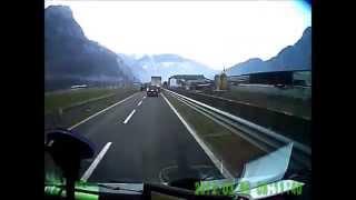 PIERWSZA TRASA W TRANSPORCIE MIĘDZYNARODOWYM. Praca kierowcy busa 4500 km w pięć dni.