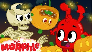 Halloween 7  Decorations come to life | My Magic Pet Morphle | Cartoons For Kids | Mila and Morphle