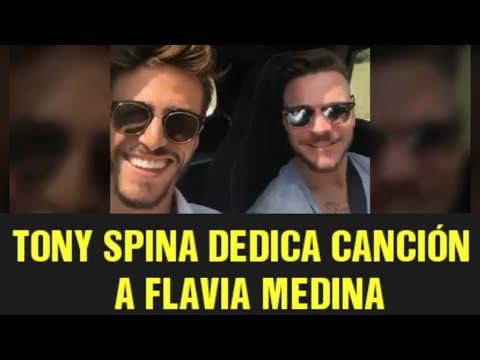 Tony Spina DEDICA CANCIÓN A FLAVIA MEDINA | 18/08/17