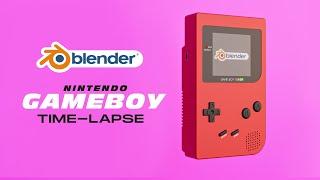 Nintendo Game Boy 3D Model Free Download | Free 3D Models