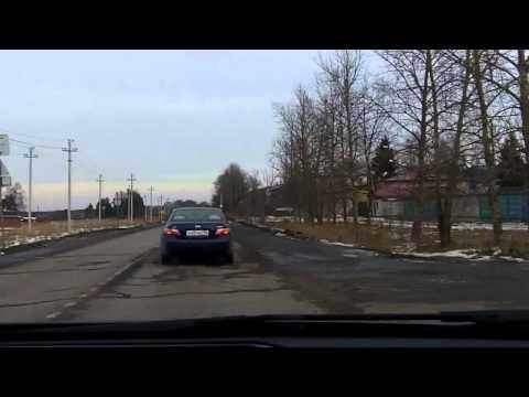 Москва - Орехово-Зуево / Moscow - Orekhovo-Zuyevo 01/01/2014 (timelapse 4x)