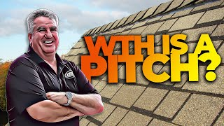What Is A Roof Pitch with Sean Your Roof Guy   XLR8 Roofing
