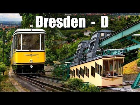 BERGBAHNEN IN DRESDEN - Standseilbahn & Schwebebahn (2015)