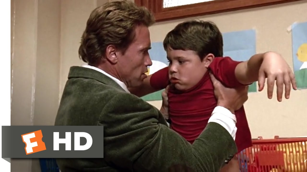 Kindergarten Cop (1990) - It's Not a Tumor! Scene (6/10 ...
