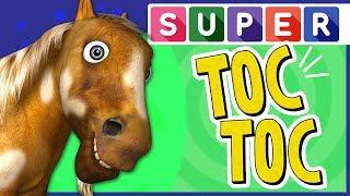 SUPER TOC TOC | Aprender Animales en La Granja de Zenón | A Jugar
