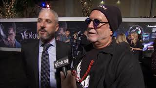 Venom Los Angeles Premiere -  Itw Matt Tolmach and Avi Arad (official video)