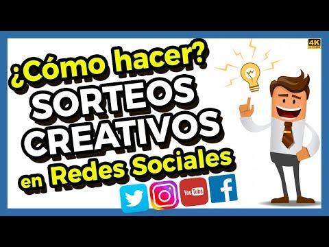 ¿Cómo Hacer CONCURSOS Y SORTEOS CREATIVOS En REDES SOCIALES? Facebook, YouTube, Instagram, Twitter.