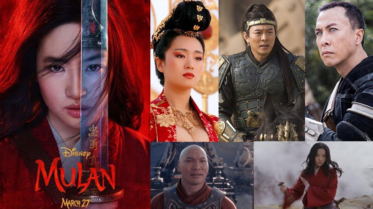 Disney's Mulan 2020 cast - YouTube