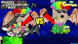[PAW 6] Testing the Megalodon [No Price!?] Vs Riding Turtle [375 WLs] ! | Growtopia