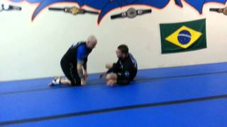 Nogi Butterfly Guard to Duck Under Back Take