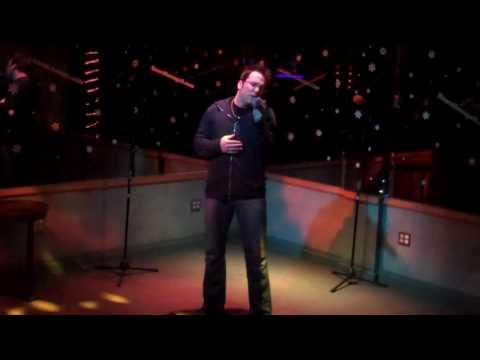 """Lizard Lounge Long Island Karaoke Matt W. """"Love Is On The Way"""" Celine Dion"""