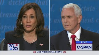 Vice Presidential Debate between Mike Pence and Kamala Harris