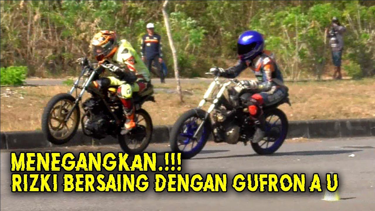 RISKI md115 BERSAING DENGAN GUFRON au54  PREPARE ROAD RACE INDONESIA